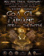 Party Flyer ॐ GOA GIL, NIMBA & THE NOMMOS ॐ NEW FIRE TRIBAL CEREMONY ॐ 21 Dec '19, 17:00
