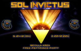 Party Flyer SOL INVICTUS 21 Dec '19, 10:00