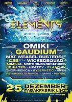 Party Flyer ELEMENTS WINTER FESTIVAL 25 Dec '19, 21:00