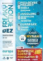 "Party Flyer FREAKY FICTION ""XMAS EDITION"" 25 Dec '19, 23:00"