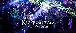 Party Flyer Klopfgeister · XMAS Wonderland 25 Dec '19, 22:00