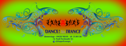 Party Flyer DANCE! to TRANCE 26 Dec '19, 21:00