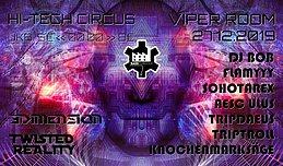 Party Flyer Bassfabrique Hi-Tech Circus 27 Dec '19, 22:00
