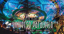 Party Flyer Universo Paralello #15 27 Dec '19, 22:00