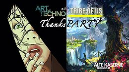 Party Flyer Art of Techno meets Tribe of Us 28 Dec '19, 23:00