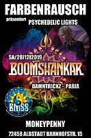 Party Flyer FarbenRausch präsentiert, Psychedelic Lights w/ Boomshankar 28 Dec '19, 22:00