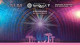 Party Flyer Terra Azul Festival 28 Dec '19, 01:00