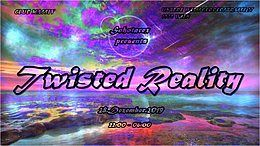 Party Flyer Twisted Reality 28 Dec '19, 22:00