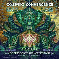 Party Flyer Cosmic Convergence Festival - Recode 29 Dec '19, 12:00