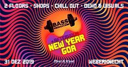 Party Flyer Bassproduction New Year Goa 31 Dec '19, 20:00