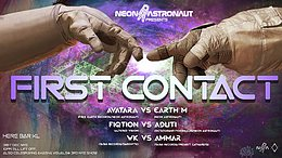 Party Flyer First Contact 31 Dec '19, 21:00