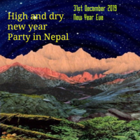 Party Flyer hight and dry new year party 31 Dec '19, 02:00