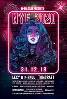Party Flyer New YEARS RAVE 2020 /w Lexy & K-Paul uvm. 31 Dec '19, 23:00