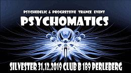 Party Flyer Psychomatics 31 Dec '19, 21:00