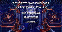 Party Flyer Psylvestrance 2019/2020 w/ Blastourist & Psy-Mr. 31 Dec '19, 20:00
