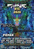 Party Flyer RUNE NYE 2020 31 Dec '19, 19:00