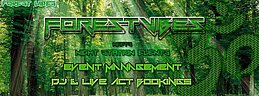 Party Flyer Silvester Goa Outdoor/Indoor by Forest Vibes 31 Dec '19, 20:00