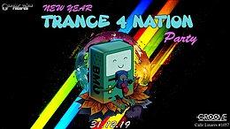 Party Flyer Trance 4 Nation 31 Dec '19, 22:00