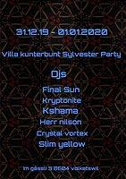 Party Flyer Villa Kunterbunt Sylvester Party 2019 31 Dec '19, 20:00
