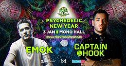 Party Flyer TREEBAL NEW YEAR: CAPTAIN HOOK & EMOK - IBOGA RECORDS SHOWCASE 3 Jan '20, 23:00