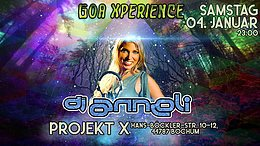 Party Flyer Goa Xperience - The Tribe / Djane Anneli from Sweden 4 Jan '20, 23:00