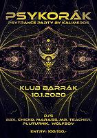 Party Flyer Psykorák 10 Jan '20, 20:00