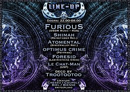 Party Flyer USP presents the Forgotten Dimension 10 Jan '20, 22:00