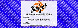 Party Flyer ॐ-Budget 11 Jan '20, 23:00