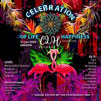 Party Flyer Celebration of life n happiness 6th edition, London 11 Jan '20, 23:00
