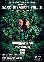 Party Flyer Dark invasion vol 8 with bobblehead live set 17 Jan '20, 19:00