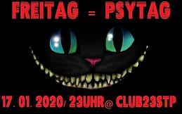 Party Flyer FREItag = PSYtag ! 17 Jan '20, 23:00