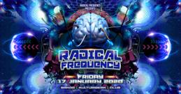 Party Flyer Radical Frequency Night @Sakog 17 Jan '20, 22:00