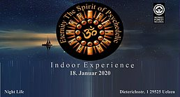 Party Flyer Eternity The Spirit of Psychedelic Indoor Experience Vol.1 18 Jan '20, 20:00