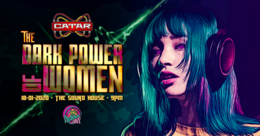Party Flyer Psychedelic Gaff #21 The Dark Power of Women w/ Insane Creatures & Tyndra 18 Jan '20, 21:00