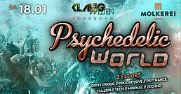 Party Flyer Psychedelic World 18 Jan '20, 23:00
