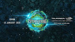 Party Flyer Psygathering on tour:Talamasca , Waio and much more 18 Jan '20, 22:00