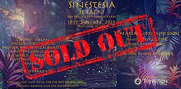 Party Flyer SINESTESIA 20h Psychedelic Party 18 Jan '20, 16:00