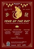 Party Flyer Year of the Rat 18 Jan '20, 22:00