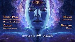 Party Flyer QuadLogos presents: Ondrej Psyla & Damzah 24 Jan '20, 23:00