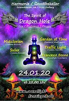 Party Flyer The Spirit of Dragon Hole 24 Jan '20, 22:00