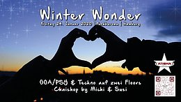 Party Flyer Atisha: Winter Wonder (TranceDance Special) 24 Jan '20, 22:00