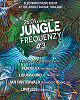 Party Flyer Jungle Frequenzy #3 25 Jan '20, 20:00