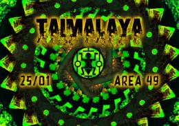 Party Flyer Taïmalaya 25 Jan '20, 20:00