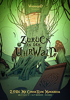 Party Flyer Zurück in den Uhrwald 7 - Sangoma Records Labelnight 25 Jan '20, 22:00