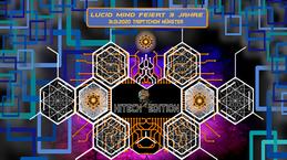 Party Flyer Lucid Mind feiert 3 Jahre - HiTech Edition 31 Jan '20, 23:00