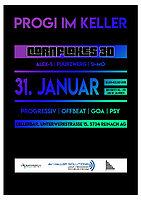 Party Flyer Progi im Keller 31 Jan '20, 21:00