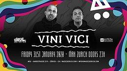 Party Flyer Vini Vici 31 Jan '20, 23:00