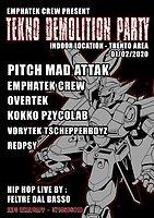 Party Flyer demolition party 1 Feb '20, 22:00