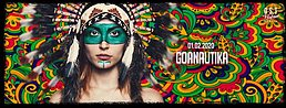 Party Flyer Goanautika /w. Klopfgeister, Bubble live ,Lsdirty, Oxidaksi , Symphonix, uvm. 1 Feb '20, 23:00