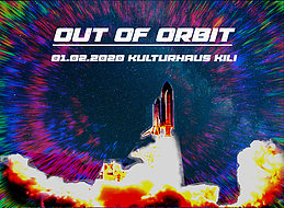 Party Flyer Out of Orbit 1 Feb '20, 23:00